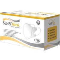 MASKER SENSI DUCKBILL GOLD PACK / SENSI MASK 3 PLY / MASKER ISI 50 PC