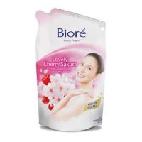 Sabun Mandi Biore Lovely Cherry Sakura 450 ml / Biore Body Foam Sakura