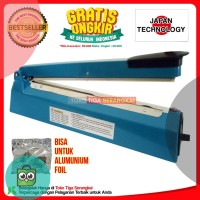 Homelux Impulse Sealer PFS-300 Alat Press Plastik 30 cm