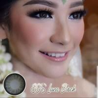 ORIGINAL Softlens EOS Luna Black (Hitam)
