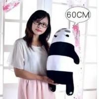 boneka we bare bears 60cm spt miniso panda jumbo import