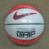 Bola Basket NIKE True Grip Competition Orange White Size 7 Basketball