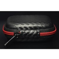 414D Knowledge Zenith Case Earphone EVA - B001 - Black/Red