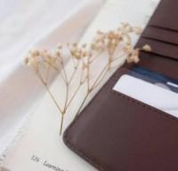 Murah Card Holder / Dompet Kartu Synthetic Leather / Kulit Sintetis