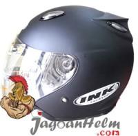 INK Centro Jet Helm Original Helmet Black Doff / Hitam DOP