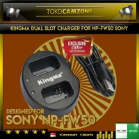 Kingma BM015-FW50 Dual Charger for Sony NP-FW50 / A5000 - A6000