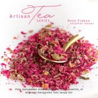 Artisan Tea Cafe - Rose Flakes Serpihan Bunga Mawar Kering SAMPLE 10gr