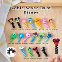 Cable Saver Twist / Pelindung Ujung Kabel Android Apple - DISNEY