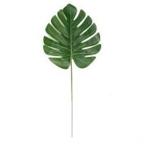 artificial monstera leaf - daun hias monstera kecil ekor naga imitasi