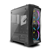 PRIME K-[X] - PREMIUM GAMING PC CASE / CASING PC GAMING PREMIUM