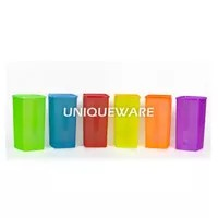 Toples / Wadah Plastik / Food Container Colourful