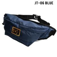 JFR Tas Pinggang Waist Bag Bahan Polyester JT06 Blue