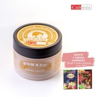 CULTUSIA Pomade Hyper Color - Summer Gold 85 ML   Free Hairmask 25ml