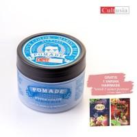 CULTUSIA Pomade Hyper Color - Marine Blue 85 ML   Free Hairmask 25ml