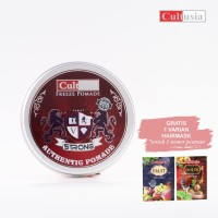 CULTUSIA Pomade Freeze - Strong 80 ML   Free Hairmask 25ml