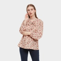 SIMPLICITY Floral Print Blouse Dusty pink