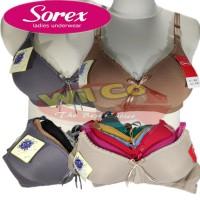 K568   Bra - Bh Wanita Sorex Premium   Extra Comfort   Tanpa Kawat