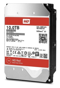 WDC 10TB SATA3 256MB - Red - WD100EFAX - Garansi 3 Th (For NAS)