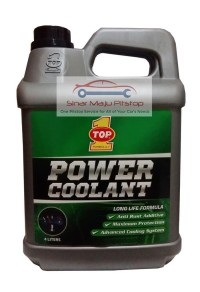 PAKET TOP 1 RADIATOR COOLANT HIJAU 4 LTR + MASTER RADIATOR FLUSH 300ML