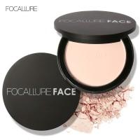 Focallure Face Powder Compact Bedak Brighten Mirror FA16