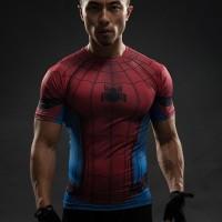 Paling Terpopuler Kaos Manset Baselayer GYM Under Armour Spiderman