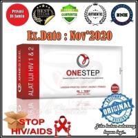 One Step Uji HIV / Alat Test HIV Pribadi / Mudah Cepat & Akurat