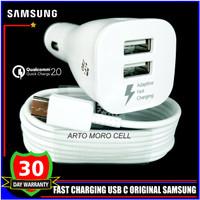 Car Charger Samsung Galaxy A8 A8+ A8 Star 2018 ORIGINAL 100% USB C