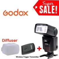 Godox TT520 II + Wireless Trigger (Universal Speedlite/Flash)