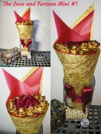 Satin Flower Bouquet / Buket Bunga Satin D'Vlorin Batch 1A