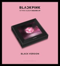 Termurah Blackpink - Square Up (1St Mini Album)(Black/Pink Version)