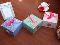 Paper Gift Box Kue Kotak 14.5x14x9Cm