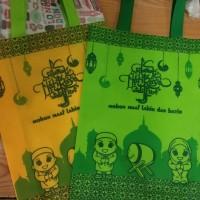 Goodie Bag Handle edisi IDUL FITRI 30x40x10 - tas kain - Spunbond