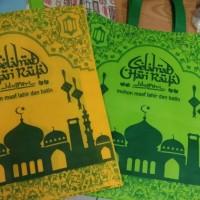 Goodie Bag Handle edisi IDUL FITRI 38x45x10 - tas kain - spunbond