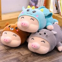 BONEKA IMPORT PIG LAY COSTUM (TOTORO, DINO & BEAR)