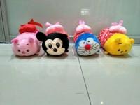 Boneka Guling Karakter Disney Tsum With Heart