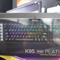 Corsair K95 RGB Platinum BNIB Resmi DTG 2 Thn