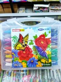 Aman Dan Termurah... Crayon - Krayon Kenko 18 Warna - Pensil Warna -