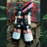 100% Pure natural organic candlenuts oil (Minyak kemiri bakar murni)