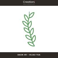 Daun Bunga | Paper Flower Backdrop Leaf Jasmine - 49