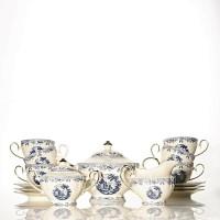 Tea Set Keramik Capodimonte 17 pcs Johnson