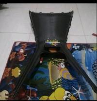 Cover Tangki Jok Nmax Legshield Nmax Dek Tengah Carbon Original murah