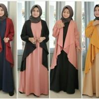 kupu maxi/butterfly gamis/baju panjang muslim/maxi layer cantik