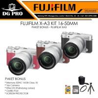 FUJIFILM X-A3 KIT 16-50MM PAKET BONUS - FUJIFILM XA3 - XA-3