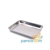 Nampan / Baki Stainless Anti Karat U: 22X32 Brand Komodo