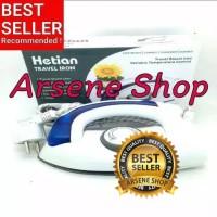 Setrika Uap Lipat Portable Hetian / Soarin 2in1 Travel Iron Steamer