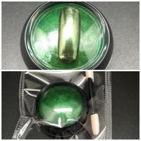 1Box 0.2g Green Chrome Nail Powder