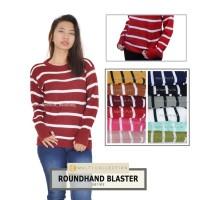 Baju Rajut Wanita RoundHand Blaster Sweater Rajut Korea Atasan Wanita