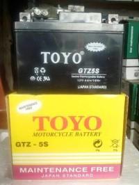 HOT PROMO Aki Accu Motor TOYO GTZ5S MF