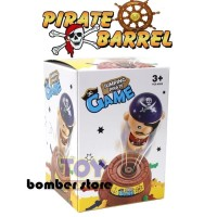 B1B1177 Mainan Jumping Pirate Barrel Game Roulette Super Mini