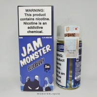 JAM MONSTER BLUEBERRY 100ML 3MG (PREMIUM USA E LIQUID VAPOR/VAPE)